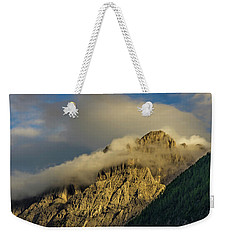 After The Rain In The Austrian Alps. Weekender Tote Bag by Ulrich Burkhalter