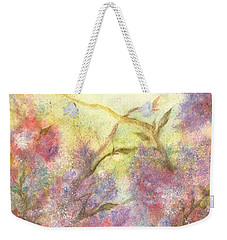 After The Rain - May Flowers Weekender Tote Bag by Janine Riley