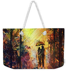 After The Rain Weekender Tote Bag by Raymond Doward
