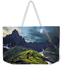 After The Rain Storm Weekender Tote Bag