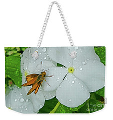 Weekender Tote Bag featuring the photograph After The Rain by Val Miller