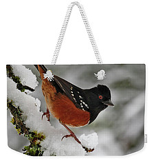 After The Snow Storm 365-293 Weekender Tote Bag by Inge Riis McDonald