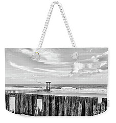 After The Storm Black And White Weekender Tote Bag