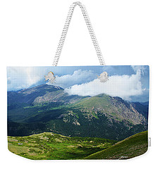 Weekender Tote Bag featuring the photograph After The Storm by Marie Leslie