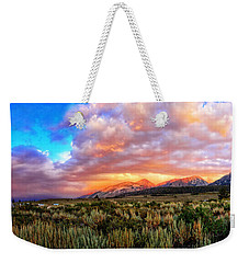 After The Storm Panorama Weekender Tote Bag