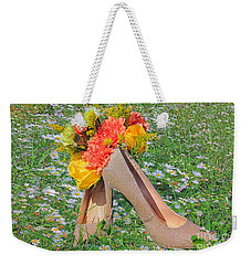 Weekender Tote Bag featuring the photograph After The Wedding by Geraldine DeBoer