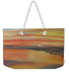 Afterglow Weekender Tote Bag