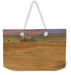 Afterglow On The Palouse Weekender Tote Bag