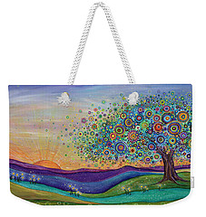 Afterglow - This Beautiful Life Weekender Tote Bag