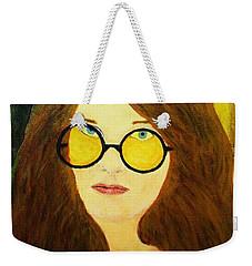 Afterlife Concerto Janis Joplin Weekender Tote Bag
