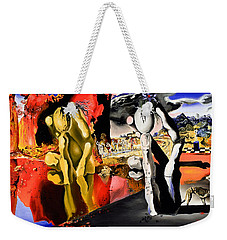 Aftermath Of Narcissus - After Dali- Weekender Tote Bag