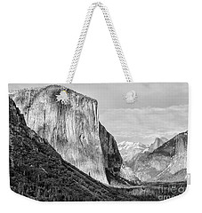 Weekender Tote Bag featuring the photograph Afternoon At El Capitan by Sandra Bronstein