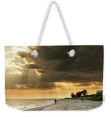 Weekender Tote Bag featuring the photograph Afternoon Fishing On Sanibel Island by Chrystal Mimbs