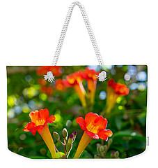 Afternoon Flowers Weekender Tote Bag