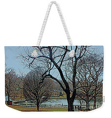 Weekender Tote Bag featuring the photograph Afternoon In The Park by Sandy Moulder