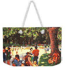 Afternoon In The Park Weekender Tote Bag by Walter Casaravilla