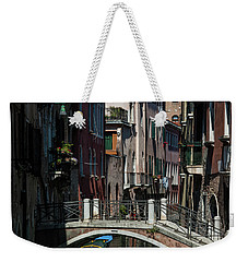 Weekender Tote Bag featuring the photograph Afternoon In Venice by Alex Lapidus