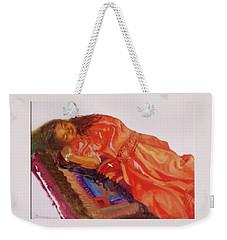 Afternoon Nap Weekender Tote Bag