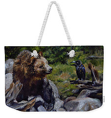Afternoon Neigh-bear Weekender Tote Bag