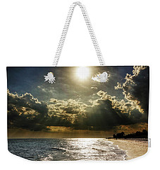 Weekender Tote Bag featuring the photograph Afternoon On Sanibel Island by Chrystal Mimbs