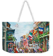 Afternoon On St. Ann Weekender Tote Bag