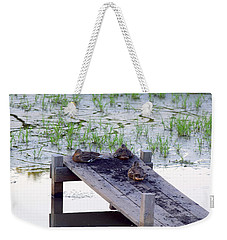 Afternoon Rest Weekender Tote Bag
