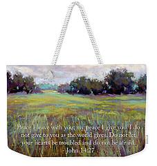 Afternoon Serenity With Bible Verse Weekender Tote Bag