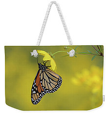 Weekender Tote Bag featuring the photograph Afternoon Snack by Ann Bridges