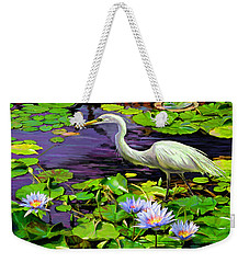 Afternoon Snack Weekender Tote Bag by David  Van Hulst
