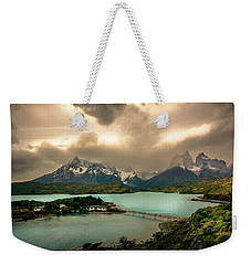 Weekender Tote Bag featuring the photograph Afternoon Storm by Andrew Matwijec