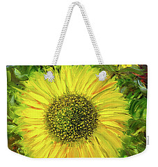 Afternoon Sunflowers Weekender Tote Bag