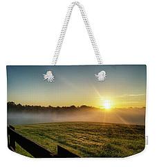 Afton Va Sunrise Weekender Tote Bag