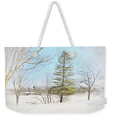 Against The Elements Weekender Tote Bag