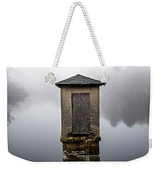 Weekender Tote Bag featuring the photograph Against The Fog by Karol Livote
