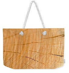 Weekender Tote Bag featuring the photograph Against The Grain by Christina Rollo