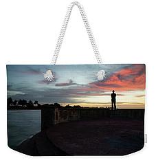 Against The Sky Weekender Tote Bag