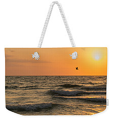 Against The Wind Weekender Tote Bag by Christopher L Thomley