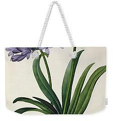 Agapanthus Umbrellatus Weekender Tote Bag by Pierre Redoute