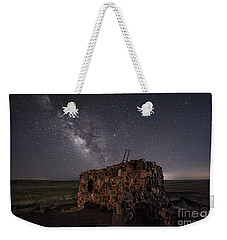 Agate House At Night Weekender Tote Bag