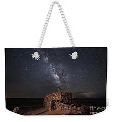 Agate House At Night2 Weekender Tote Bag