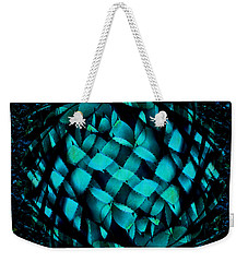 Agave Blues Abstract Weekender Tote Bag