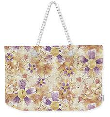 Aged Flower Clown Pattern Weekender Tote Bag