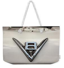 Aged V8 Weekender Tote Bag