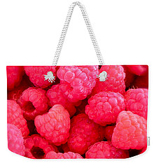 Agenda For Today ... Raspberry Jam Weekender Tote Bag