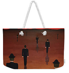 Agents Orange Weekender Tote Bag by Thomas Blood