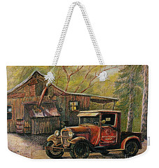 Agent's Visit Weekender Tote Bag by Marilyn Smith