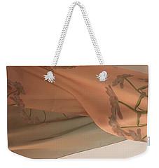 Aging Tulips Silk Weekender Tote Bag