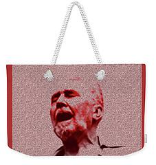 Agony Weekender Tote Bag by Asok Mukhopadhyay