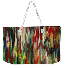 Weekender Tote Bag featuring the painting Agony by Jacqueline Athmann