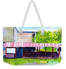 Aguadilla Pueblo, Puerto Rico Weekender Tote Bag